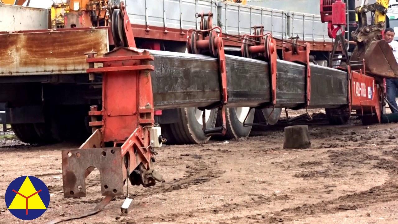 Cẩu Kanglim S2605 sức nâng 10 tấn