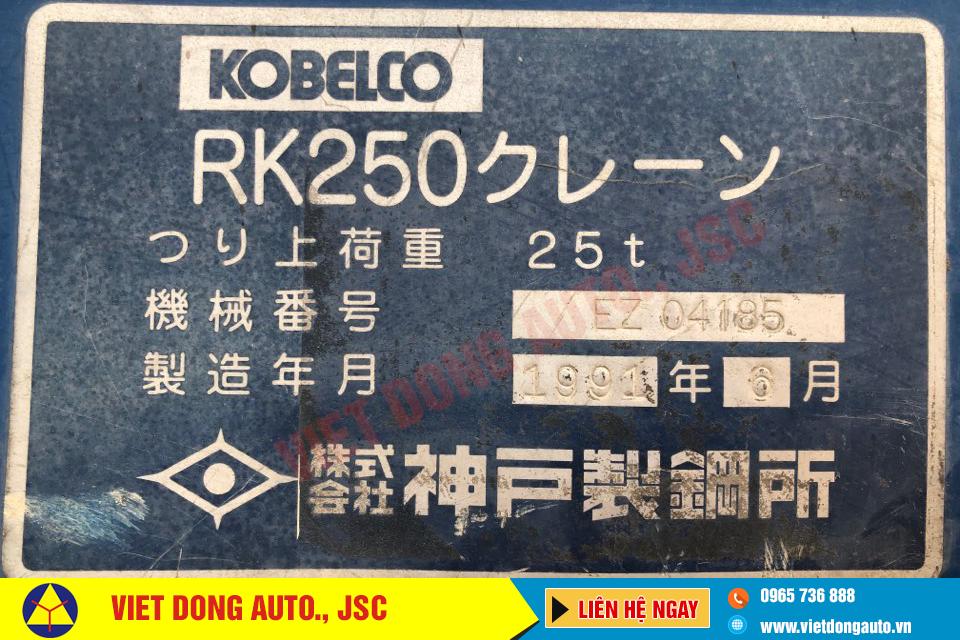 Cẩu-chuyện-dụng-KOBELCO-RK250-sức-nâng-25-tấn