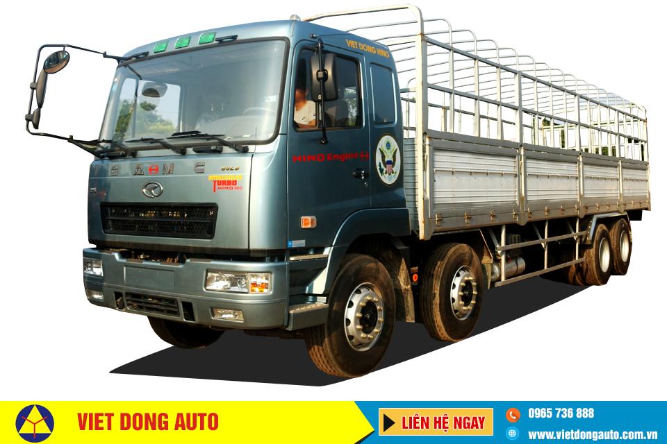 Xe tải thùng CAMC 4 chân 325HP động cơ HINO